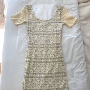 Abercrombie Lace Body Con Dress